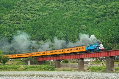 大井川鐵道は全国でも数少ないSL路線