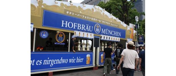 本場のビールが多数参戦。好みの1杯を探してみては
