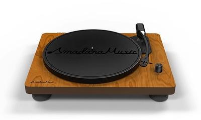 ユニバーサル ミュージックとamadanaが共同でスピーカー内蔵アナログレコードプレーヤーを開発