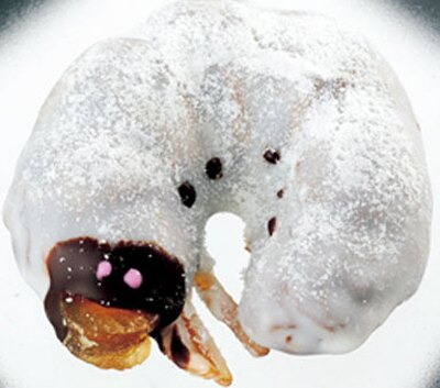 「幼虫チョコレート」220円