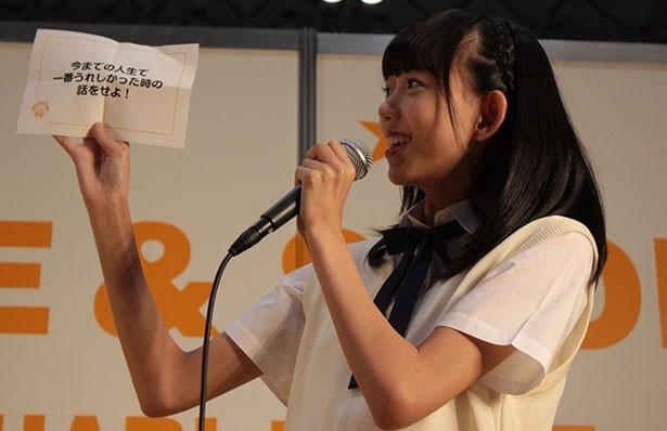 イベントで活躍する野島樺乃
