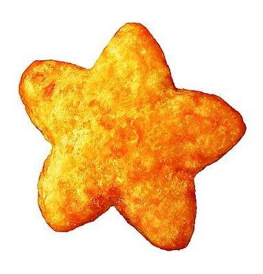 これが星型コーン!WEBサイトでは星の数で占いもできる