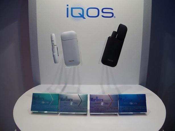 革新的なたばこヒートテクノロジーにより、新しいたばこの楽しみ方を提案する「iQOS」