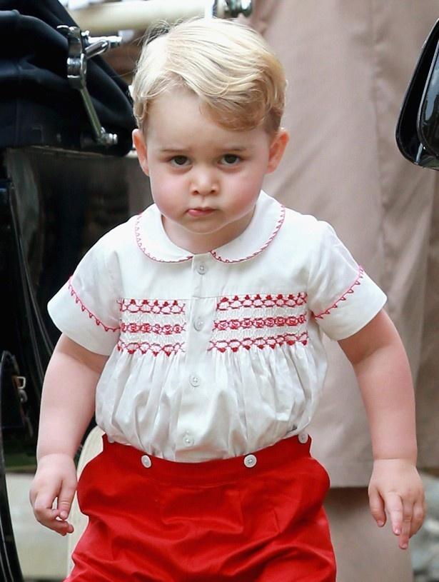 世界的ファッションリーダーの一人であるジョージ王子