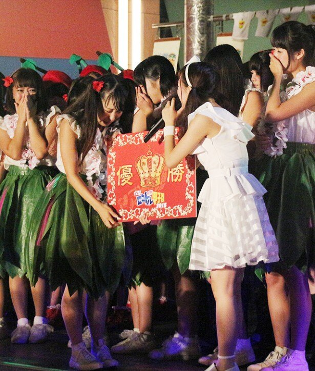 福島県いわき市・アイくるガールズが「汐留ロコドル甲子園2015」優勝