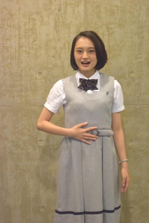 「表参道高校合唱部!」で合唱部員・美子を演じる萩原みのり