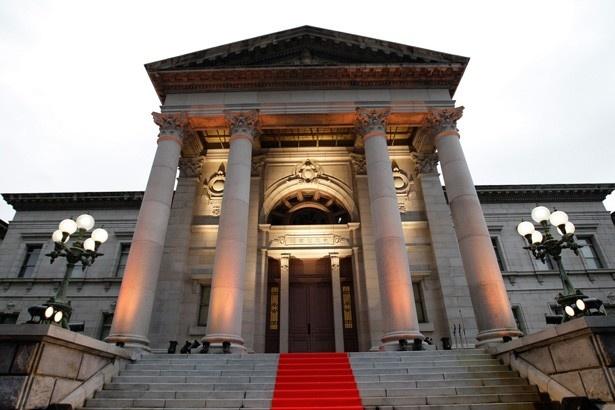 111年の歴史を持つ、現役の公立図書館施設として日本一古い図書館である中之島図書館