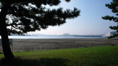 横浜市で唯一海水浴場のある海の公園は、自然たっぷり