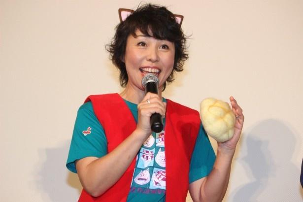 イシシ役の声優・愛河里花子 イシシ役の声優・愛河里花子 映画 マキタスポーツ、ビジュアル系バンド