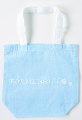FORMENGIRL「エコバッグ」210円。お弁当やマイ箸を入れてもいい、持ちやすい大きさ