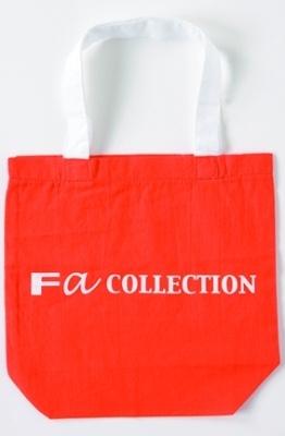 Fa COLLECTION「エコバッグ」210円。シンプルで使い回しにもいい