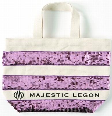 MAJESTIC LEGON「限定ボーダーエコバック」1260円