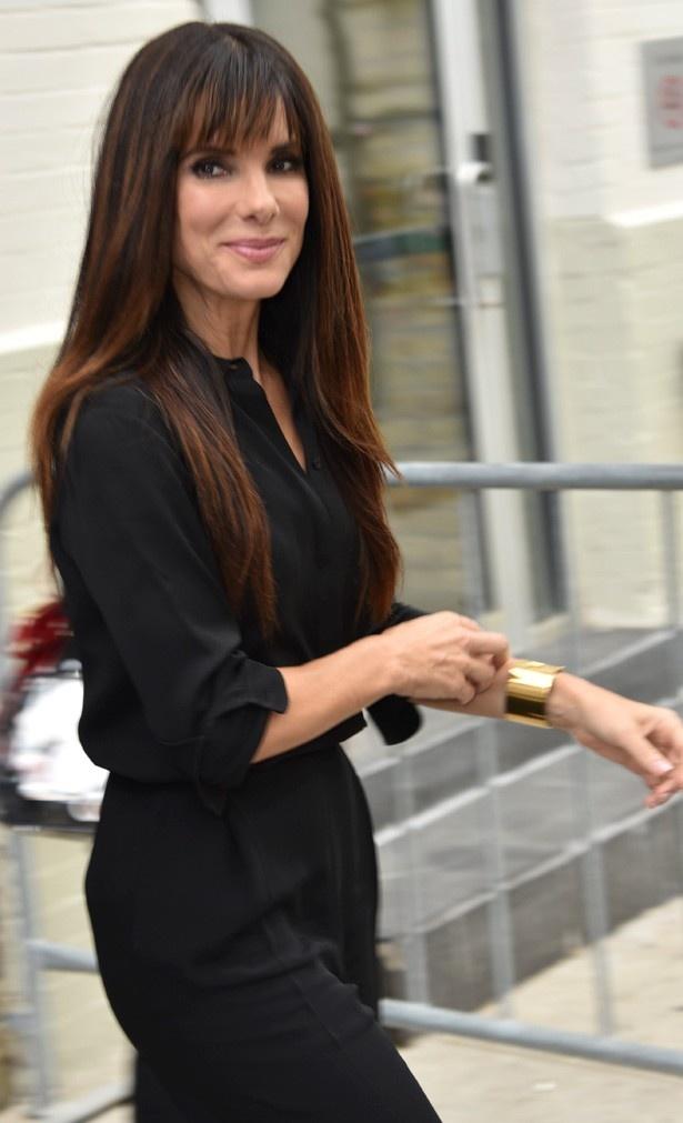東日本大震災の発生時にはハリウッド女優でもいち早く寄付を行ったサンドラ
