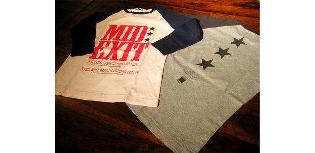 名古屋店OPEN記念のラグランTシャツ。ピンク、グレーの2色展開(男女それぞれ8.400)