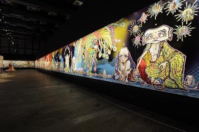 2012年制作 展示風景:「Murakami - Ego」アル・リワーク展示ホール、ドーハ