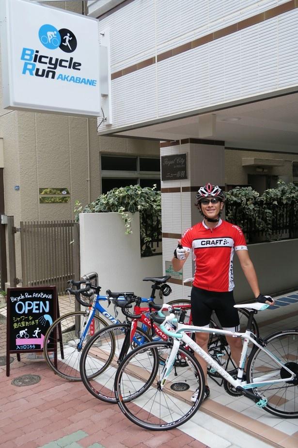 自転車の 自転車 赤羽 : ... ランナーの拠点が赤羽に誕生