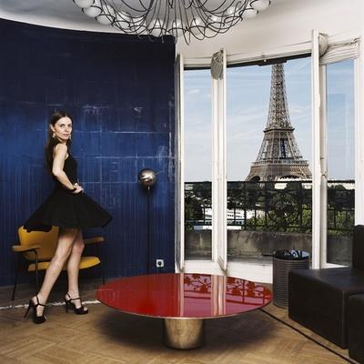 パリジェンヌによる個性的な部屋の様子が楽しめる