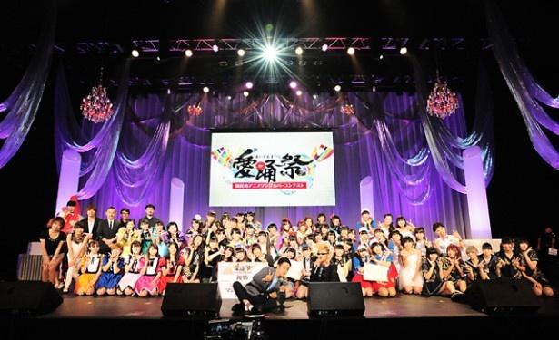 「愛踊祭~あいどるまつり~」の最終審査で、北海道エリア代表・ミルクスが優勝に輝いた