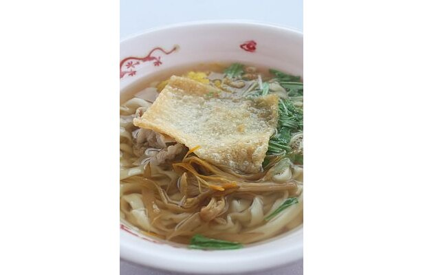 「支那そば きび」と「麺香房 天照」の「アジアンキューブラーメン」(750円)