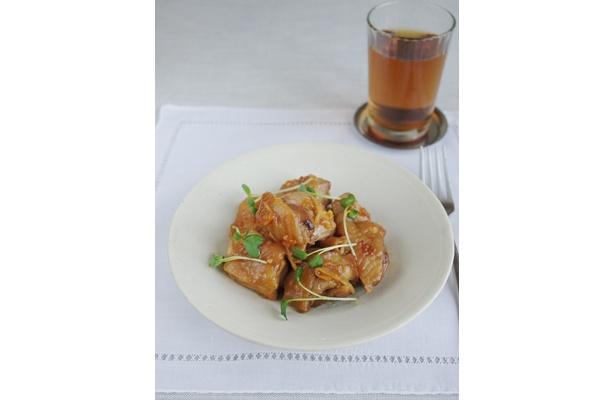 ストレスに効く「鶏肉のマーマレード煮」