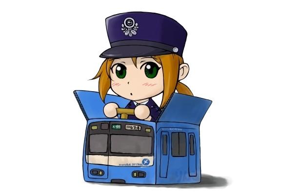 KEIKYU BLUE SKY TRAINに乗るドレミたん