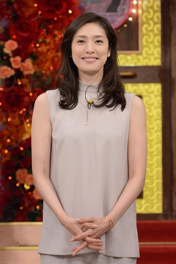 10月5日(月)の「しゃべくり007」秋SPに、天海祐希が登場