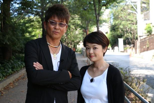 「さんぽサンデー」で地上波テレビ初共演を果たす哀川翔と娘のMINAMI