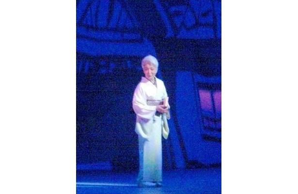 横浜開港100年イベントにも出演した草笛光子が150周年にも華を添えた