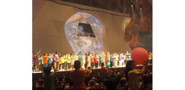 2月の全体練習から絆を作り上げた市民参加者たちが大集合