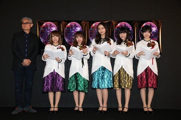 AKB48メンバー総勢90名出演するリーディングシアター「アドレナリンの夜」が10/6より公演スタート!高橋みなみら5名が囲み取材に参加!