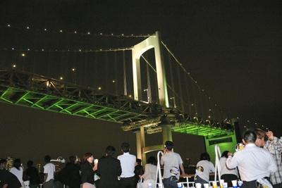 輝くレインボーブリッジを真下から見上げる【ほか美しい夜景写真など】