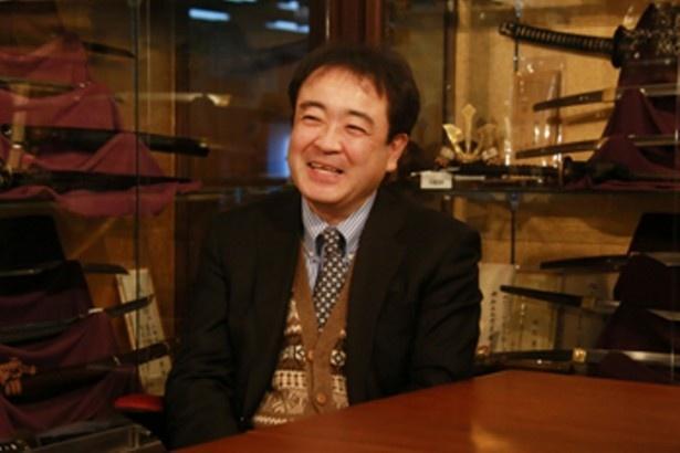 銀座 誠友堂の代表・生野正さん。前職の会社員時代から日本刀の収集を続けていた根っからの日本刀好き