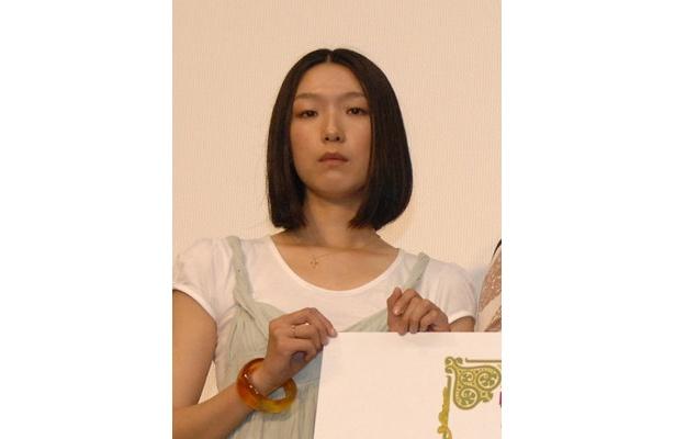 個性派・江口のりこは『混浴 heaven』で温泉好きの女に扮する