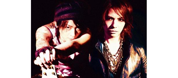 L'Arc〜en〜CielのHYDEと、Oblivion DustのK.A.Zが組んだ話題のロックユニット