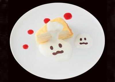 白いプリンや薫煙黄金豚ソーセージ、カチョカヴァロチーズが人気のBoccaからは、「OBAKEなミルクレープ」(400円)が登場