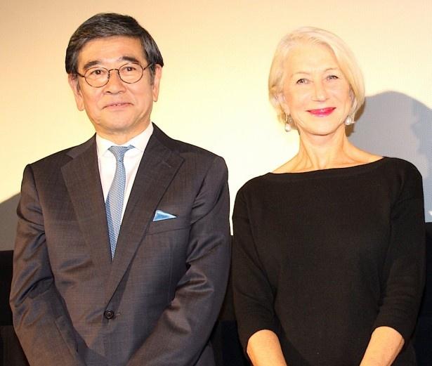 石坂浩二、ヘレン・ミレンとの対面に感激!