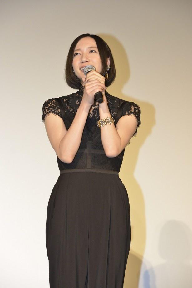 東京国際映画祭で「WE ARE Perfume -WORLD TOUR 3rd DOCUMENT」が上映され、Perfumeが舞台あいさつに立った
