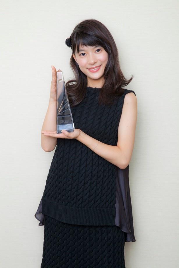 「表参道高校合唱部!」の好演で、主演女優賞を獲得した芳根京子