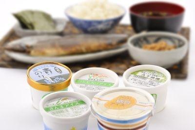 """""""朝食セット""""はさんまや納豆、八丁味噌のアイスがセットに"""
