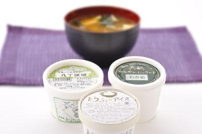 """ワカメと豆腐、八丁味噌で味噌汁の味が楽しめる!""""味噌汁セット"""""""