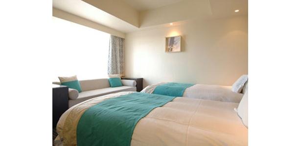 ユニバーサル・スタジオ・ジャパンのオフィシャルホテル「ホテル ユニバーサル ポート」は、2名1室6000円!(スタンダードポート-α ツイン)