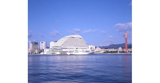 「神戸メリケンパークオリエンタルホテル」はベイエリアにある好立地