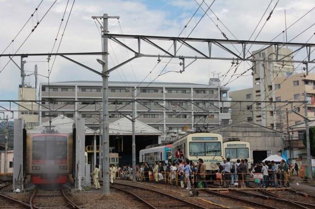 叡山電車の洗車体験!えいでんま...