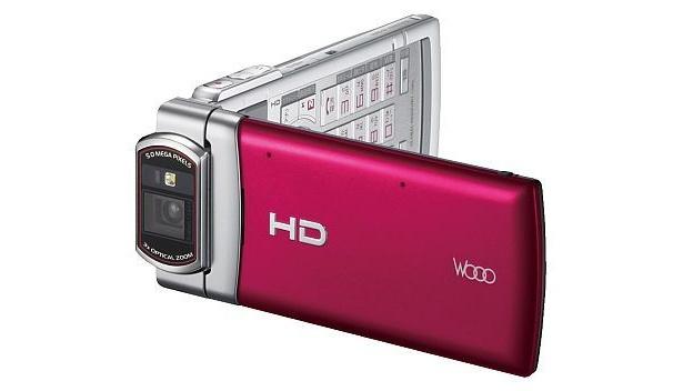 ハイビジョンムービーが撮影できるauの「Mobile Hi-Vision CAM Wooo」
