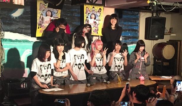ゆるめるモ!初主演映画公開前夜祭レポ!!