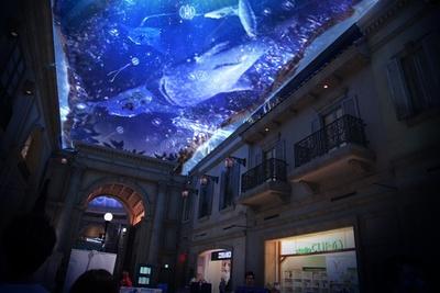 【写真を見る】アヴェニューの長さを活かした「WELCOME ZONE」では、星空と海のコンビネーションが楽しめる※画像はイメージ