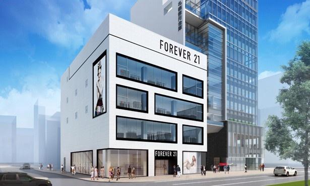 【写真を見る】北海道初上陸となる「フォーエバー21」の出店が決まった「札幌ゼロゲート」 ※画像はイメージ