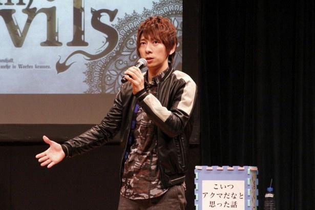 ダンデビトークで羽多野渉の足を斉藤壮馬が抱えた!?
