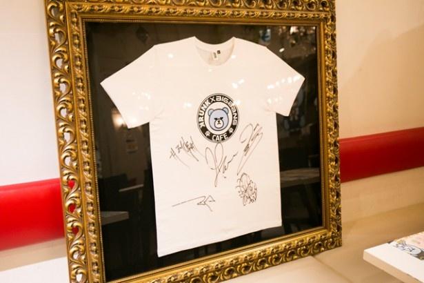 BIGBANGメンバー全員の直筆サインTシャツは必見!