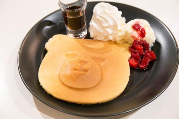 見た目がかわいい「クランクパンケーキ」(1080円)